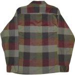画像2: USED 60's McGREGOR マクレガー ブロックチェック オープンカラー ボックスシャツ MIX / 200909 (2)