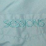 画像5: USED 90's SESSIONS セッションズ ナイロンジャケット BLUEGRY / 201010 (5)