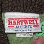 画像3: USED 90's HARTWELL ハンティングカモ サテンスタジャン ナイロンジャケット カモ / 201104 (3)