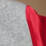 画像6: USED 80's MICKEY MOUSE ミッキーマウス サテン フリース ジャケット GRY×RED / 201122 (6)