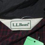 画像3: USED 90's L.L.Bean エルエルビーン プルオーバー ナイロンジャケット CHK / 201213 (3)