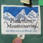 画像4: USED 80's POWDERHORN MOUNTAINEERING パウダーホーン 2WAY アウトドアジャケット BUG×BEI / 2021011 (4)