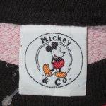 画像3: USED 90's MICKEY&CO ミッキーマウス 全面プリント スウェット RED /210429 (3)