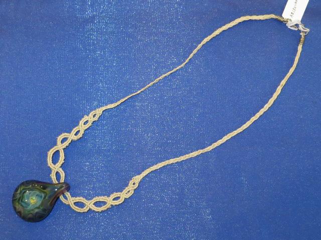 画像2: 新品 グラスアート GLASS ARTS ハンドメイド ヒッピー ペンダント HEMP 13MA-6/130411