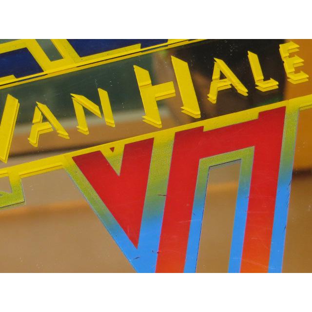 画像3: VAN HALEN ヴァンヘイレン デザイン ミラー 鏡 インテリア 80's/130502