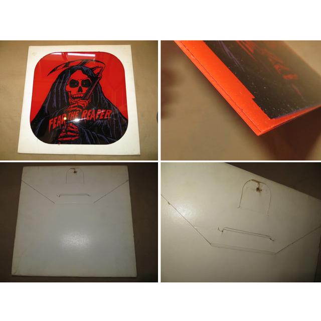 画像4: FEAR THE REAPER 死神 スカル デザイン ミラー 鏡 80's /130502