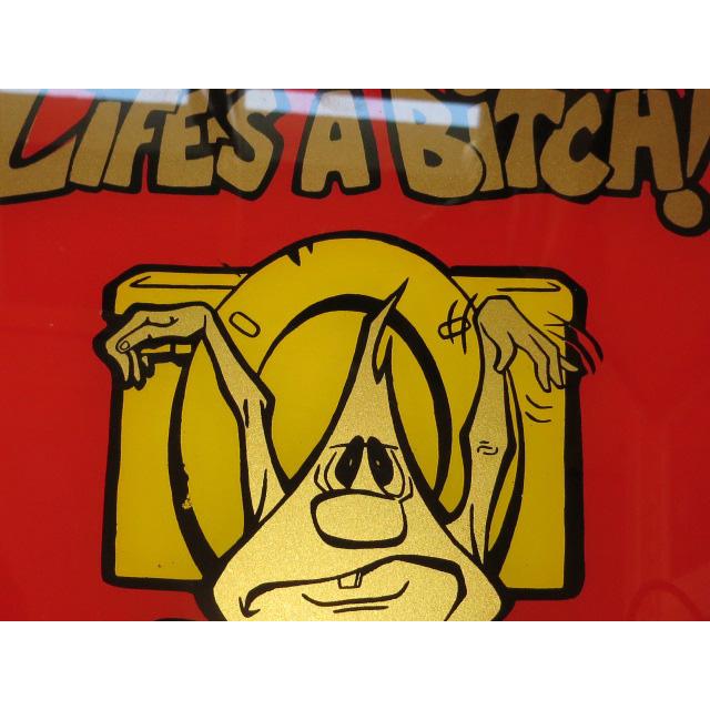 画像3: LIFE'S A BITCH FREAKS フリークス デザイン ミラー 鏡 80's /130502