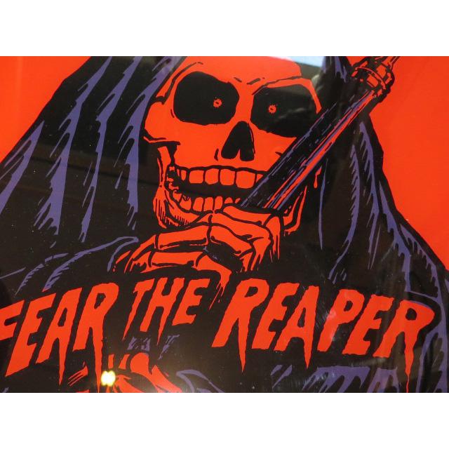 画像3: FEAR THE REAPER 死神 スカル デザイン ミラー 鏡 80's /130502