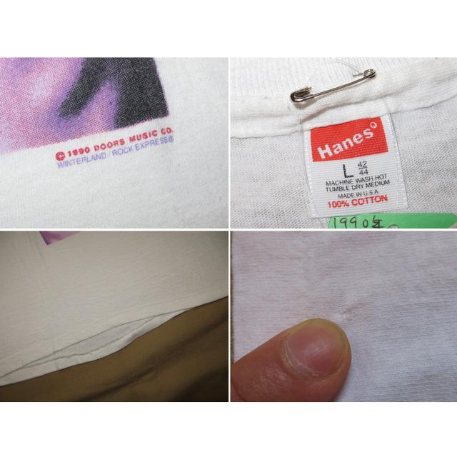画像5: 【過去に販売した商品です】古着 THE doors ドアーズ ジムモリソン フォト Tシャツ 90's/130510