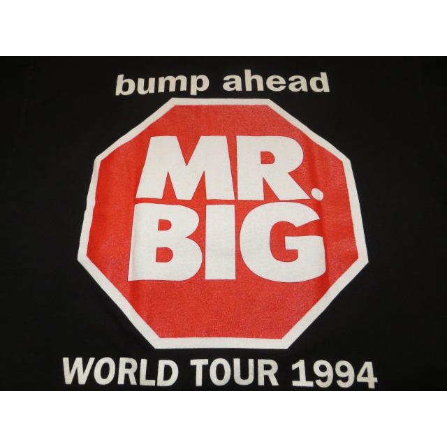 画像3: 【過去に販売した商品です】古着 MR.BIG ミスタービッグ BUMP AHEAD ツアー Tシャツ 90's/130510