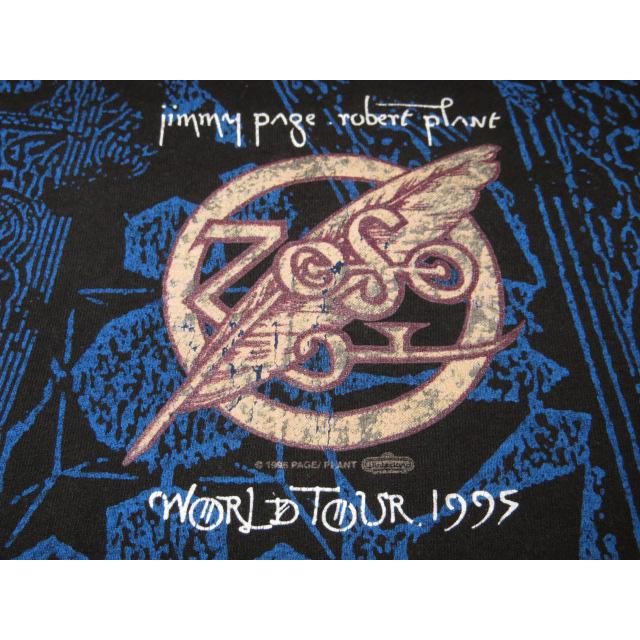 画像3: 【過去に販売した商品です】古着 JIMMY PAGE ROBERT PLANT ZEP レッド ツェッペリン 総柄 Tシャツ 90's/130523