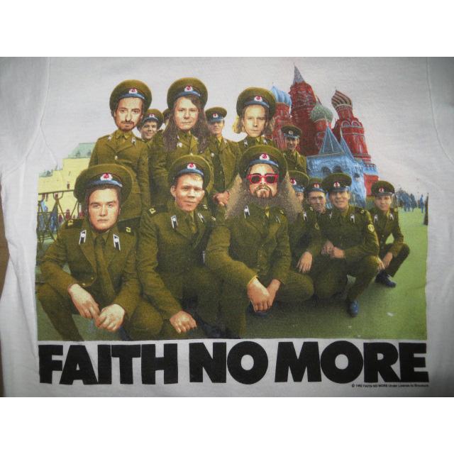 画像3: 【過去に販売した商品です】古着 FAITH NO MORE フェイスノーモア Midlife Crisis ツアー Tシャツ 90's/130529