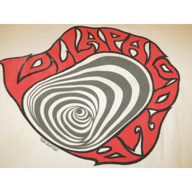 画像3: 【過去に販売した商品です】古着 LOLLAPALOOZA ロラパルーザ 1992 フェス Tシャツ WHT 90's/130614