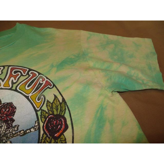 画像4: 【過去に販売した商品です】古着 GRATEFUL DEAD グレイトフルデッド スカル&ローズ タイダイ Tシャツ 80's/130701