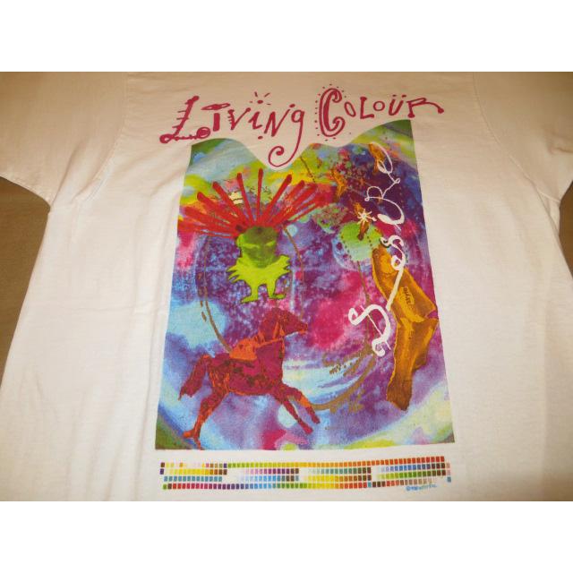 画像3: 【過去に販売した商品です】古着 LIVING COLOUR リヴィングカラー favorite colour Tシャツ WHT 80's/130717
