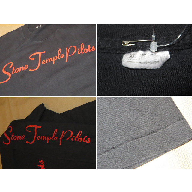 画像4: 【過去に販売した商品です】古着 STONE TEMPLE PILOTS ストーンテンプルパイロッツ 長袖Tシャツ 90's/130914