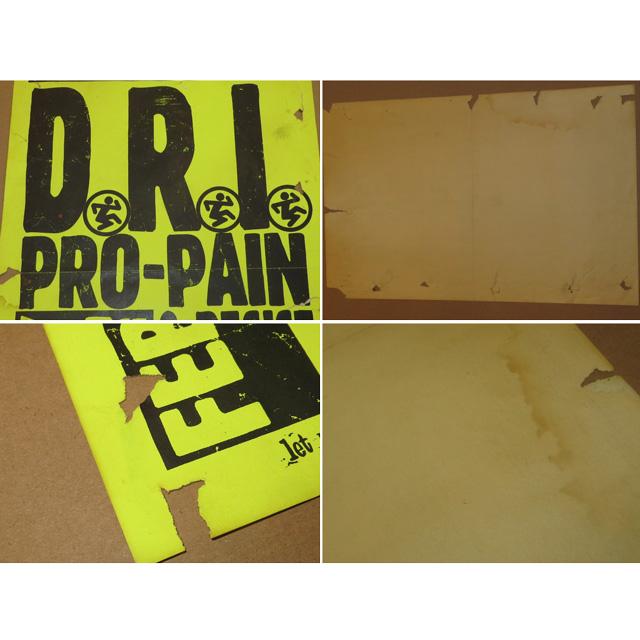 画像3: 古着 D.R.I. × PRO-PAIN ハードコア ライブ フライヤー 額縁付き 90's/131029