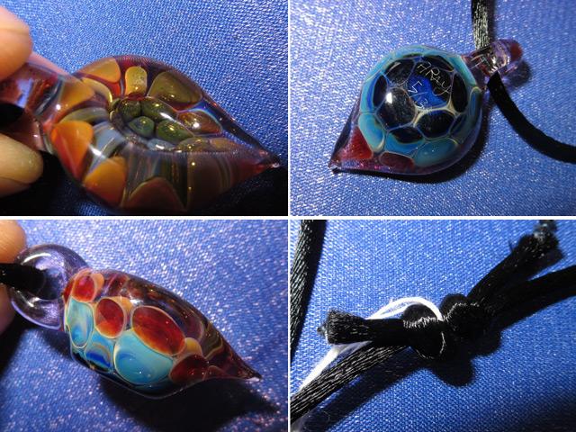 画像4: 新品 グラスアート GLASS ARTS ハンドメイド ペンダント 14MA-10 / 140402
