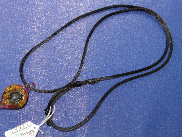 画像2: 新品 グラスアート GLASS ARTS ハンドメイド ペンダント 14MA-10 / 140402