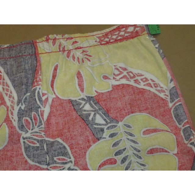 画像3: 古着 LAGUNA アロハ ハワイアン サーフ ビーチショーツ フラワー柄 80's/140803