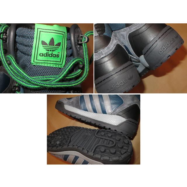 画像5: 新品 adidas アディダス WINTER BALL ウインターボール スニーカー NVY 00's /141211