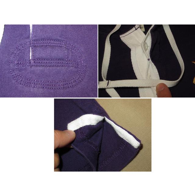 画像5: 古着 Ralph Lauren ラルフローレン RUGBY ラグビー フード付き ラガーシャツ PUP 00's /141214