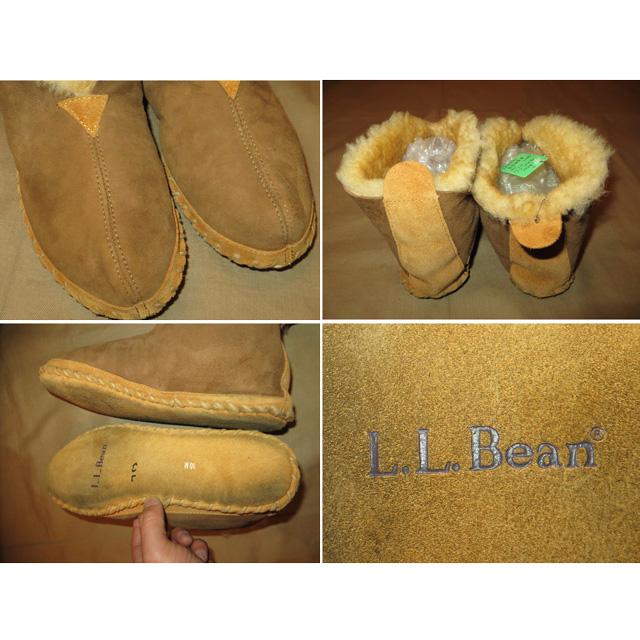 画像4: 古着 L.L.Bean LLビーン WICKED GOOD SLIPPER ムートン シューズ スリッパ 00's / 150111