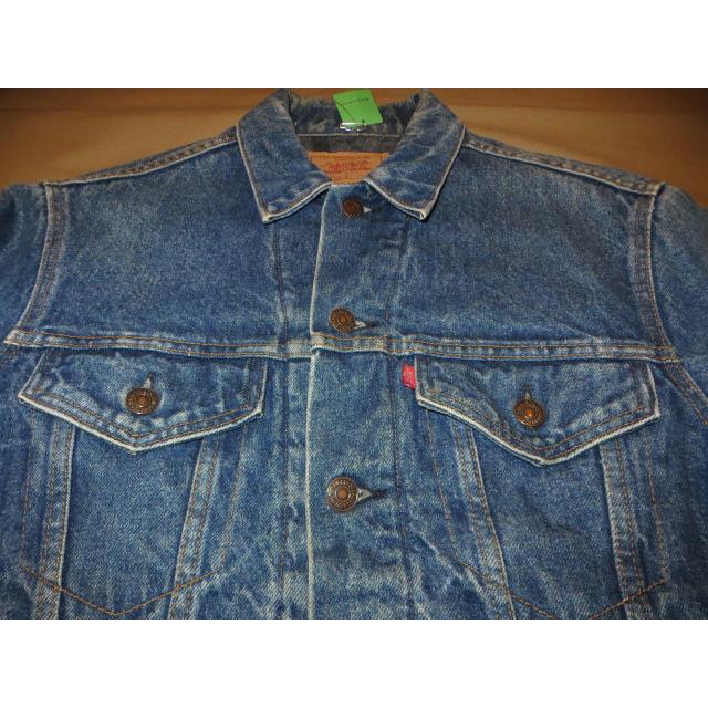 画像3: 古着 Levi's リーバイス 70506 ブランケット付き デニムジャケット Gジャン USA製 80's / 150212