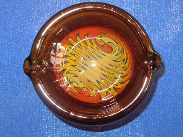 画像2: 新品 グラスアート GLASS ARTS ハンドメイド 灰皿 ashtray アシュトレイ 15-MAR-8 / 150326