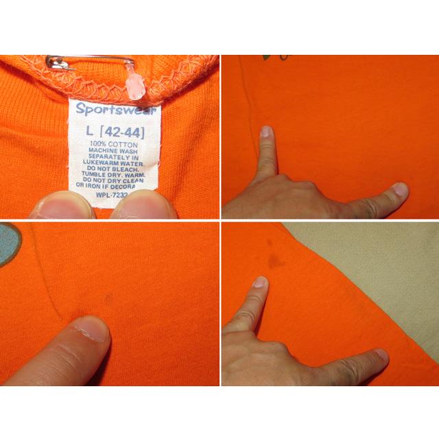 画像4: 古着 HAWAII ハワイ TIKI アロハ レギュラー プリント Tシャツ ORG USA製 80's / 150527