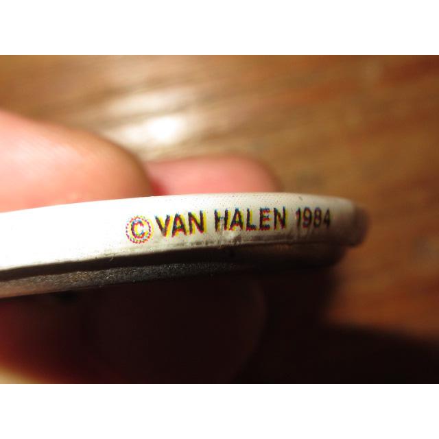 画像3: 古着 VAN HALEN ヴァンヘイレン 1984 缶バッジ 80's / 150806