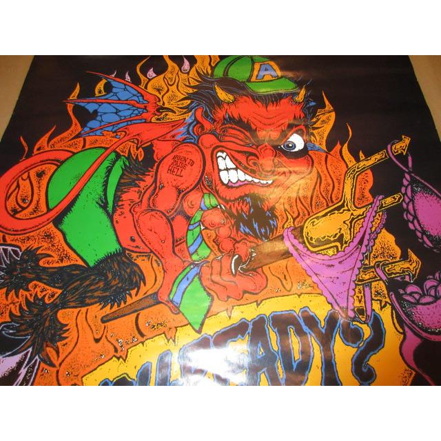 画像2: デッドストック AC DC ARE YOU READY? ミュージックポスター 90's / 150806
