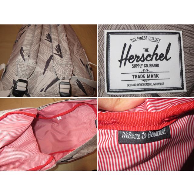 画像4: 新品 Herchel ハーシェル 総柄 海外カラー デイパック リュック BAG GRY 00's /151011