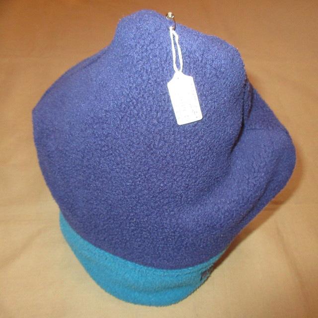 画像3: 古着 patagonia パタゴニア alpine hat アルパインハット フリース キャップ CAP 帽子 NVY/BLUE USA製 90's / 151219