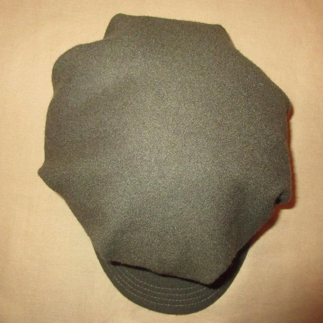 画像3: 古着 GOORIN グーリン メルトン ウール混 ワークキャップ CAP 帽子 OLV 00's / 160202