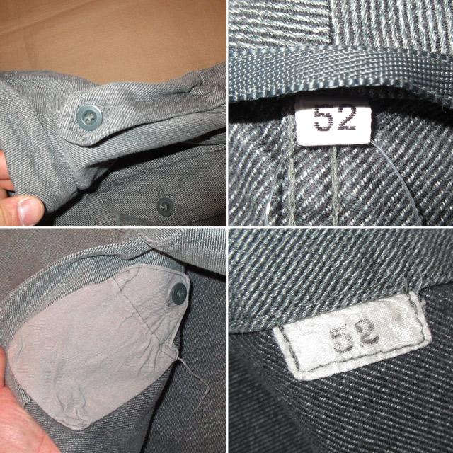 画像5: 古着 SWISS ARMY スイス軍 ミリタリー デニム シャツジャケット 80's /160310
