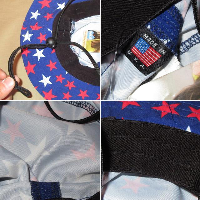 画像3: 新品 KAVU カブー USA製 バケツハット バケットハット 星柄 フラッグ アウトドア HAT 帽子 BLUE 00's / 160315