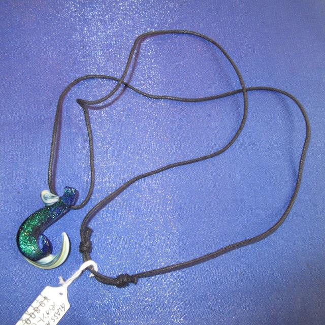 画像3: 新品 グラスアート GLASS ARTS ハンドメイド ガラス ペンダント FISHFOOK a 16-APL-2 / 160507