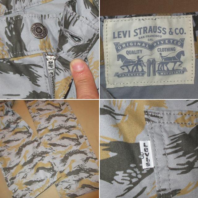 画像4: 新品 Levi's 511 リーバイス スリムパンツ カモフラ GRY 00's /160510