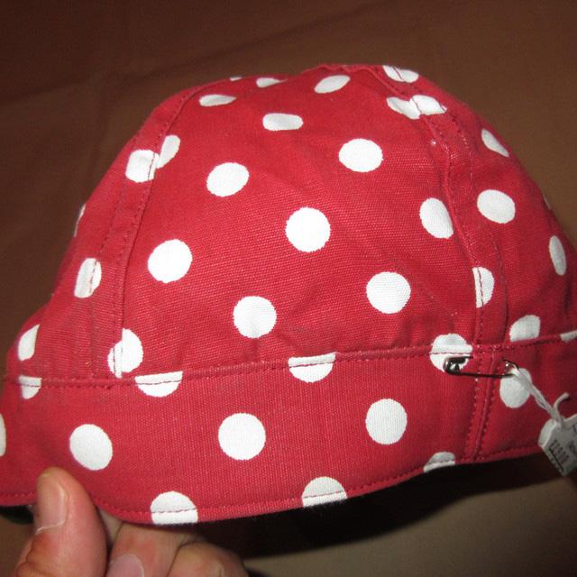 画像3: 新品 Tuff Nougies ドット柄 コットンキャップ CAP 帽子 RED/WHT 00's / 160517