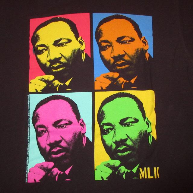 画像3: 古着 Martin Luther King Jr キング牧師 黒人革命家 Tシャツ BLK 00's / 160618