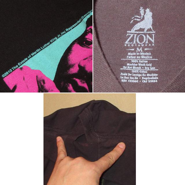 画像4: 古着 Martin Luther King Jr キング牧師 黒人革命家 Tシャツ BLK 00's / 160618