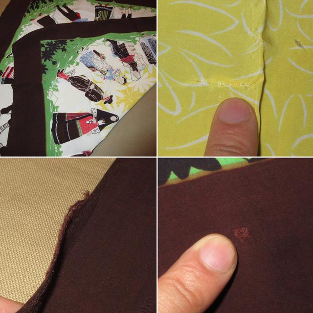 画像3: アンティーク 民族衣装 スカーフ ヴィンテージ 70's / 160630