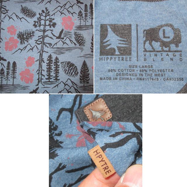 画像4: 新品 HIPPYTREE ヒッピーツリー NOOSA TANK 総柄 タンクトップ BLUE 00's / 160711