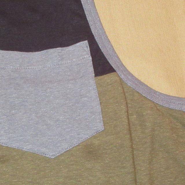 画像3: 新品 INI COOPERATIVE HEMP混 ヘンプ タンクトップ BLK/OLV 00's / 160801