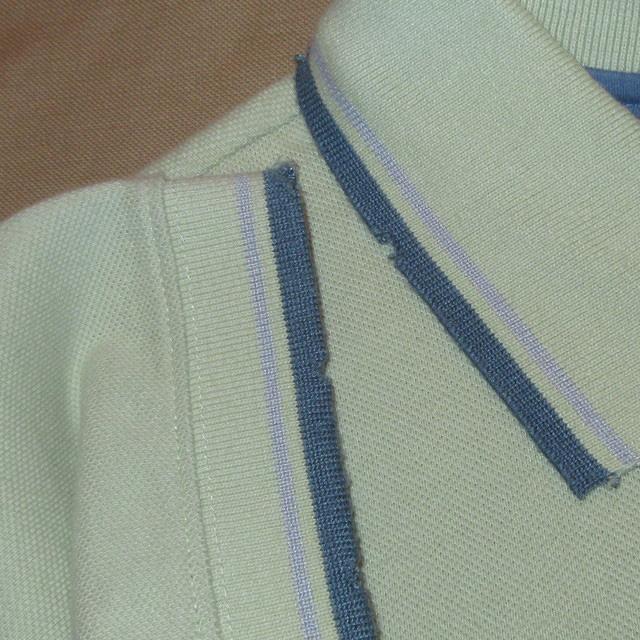 画像4: 新品 PUMA プーマ ダメージ加工 ポロシャツ GRN 00's / 160802