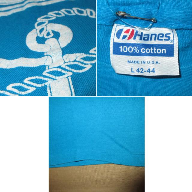 画像4: 古着 GALVESTON ISLAND BEACH CLUB マリンテイスト Tシャツ TUQ 80's / 160804