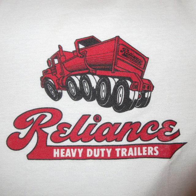 画像3: 古着 Reliance 企業物 リンガーTシャツ WHT/RED USA製 80's / 160804