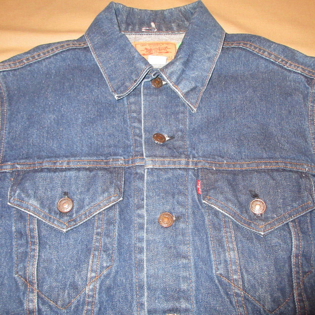 画像3: 古着 LevI's 70505 リーバイス デニム ジャケット Gジャン USA製 濃い目 80's / 161031