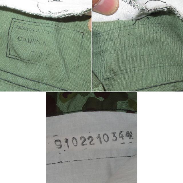 画像4: 古着 CADENA TRES ハンティングカモ ダブルニーパンツ 迷彩 80's /161203